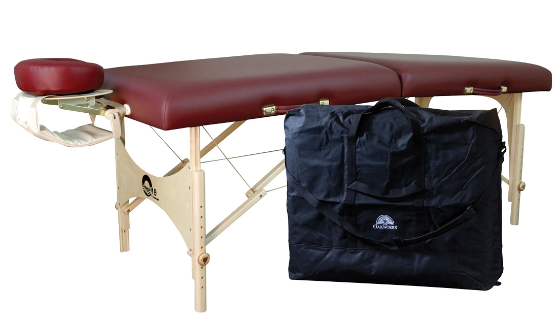 Oakworks one portable massage table package - Portable massage table reviews ...