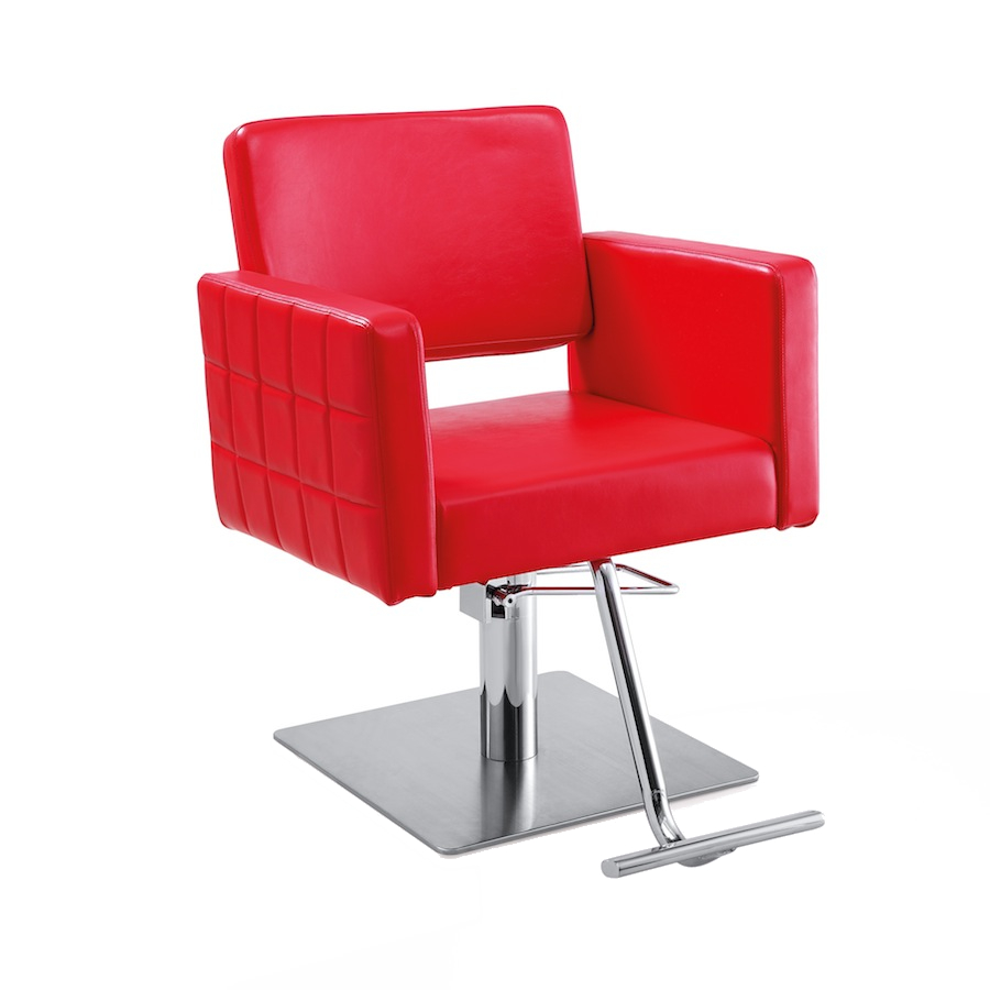 Gwyneth Red Salon Chair
