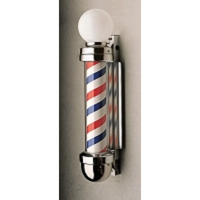 William Marvy 405 Two-Light Wall-Mount Barber Pole