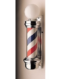 William Marvy 55 Two-Light Wall-Mount Barber Pole