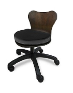 Deluxe Wood Technician Chair