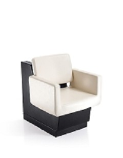 Draper White Dryer Chair