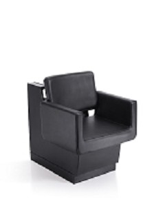Draper Black Dryer Chair