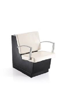 Duke White Dryer Chair