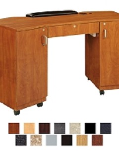Imperial Double Storage Nail Table