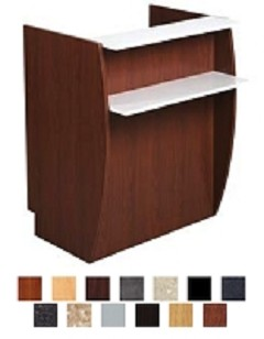 Kaemark Luminesse Reception Desk