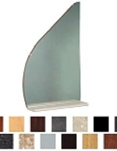 Kaemark Reflections Mirror & Shelf