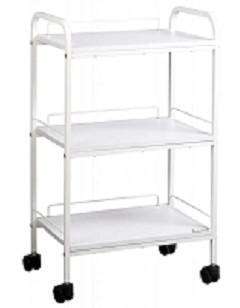 Savvy White Utility Cart