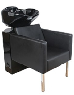 Isla Shampoo Shuttle in Black