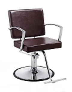 Duke Brown Hair Salon Chair