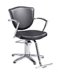 Veronica Black Hair Salon Chair