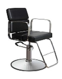 Zac Black Hair Salon Chair