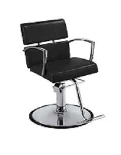 Charlotte Black Hair Salon Chair