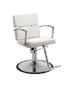 Charlotte White Salon Chair