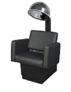 Gwyneth Black Dryer Chair