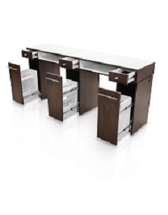 Gulfstream Paris Double Nail Table